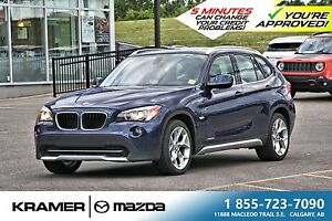2012 BMW X1 28i Xdrive w/Panoramic Roof