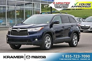 2014 Toyota Highlander Limited w/2 Sets of Wheels