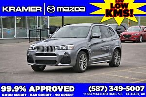 2017 BMW X3 Xdrive 35i MSport, NAVI,HUD,BUC,LOADED