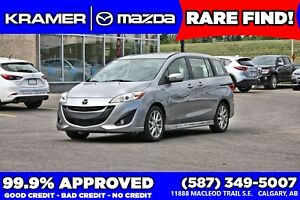 2017 Mazda Mazda5 GT w/Heated Leather & Back-Up Sensors