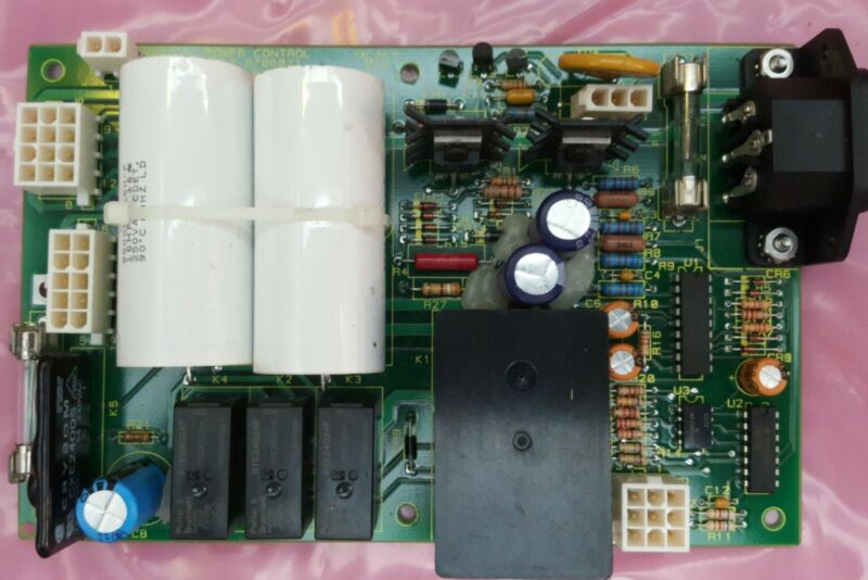 Beckman Coulter Power Control Board Assy 6706021 Schem 6321521