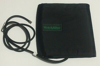 Welch Allyn Vital Signs Monitor Blood Pressure Bp Hose Adult Thigh Nylon Cuff