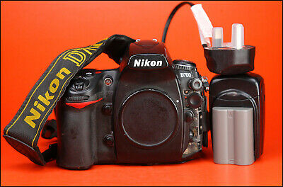 Nikon D700 DSLR Camera Body  - Generic Battery & Charger - Full Working Order