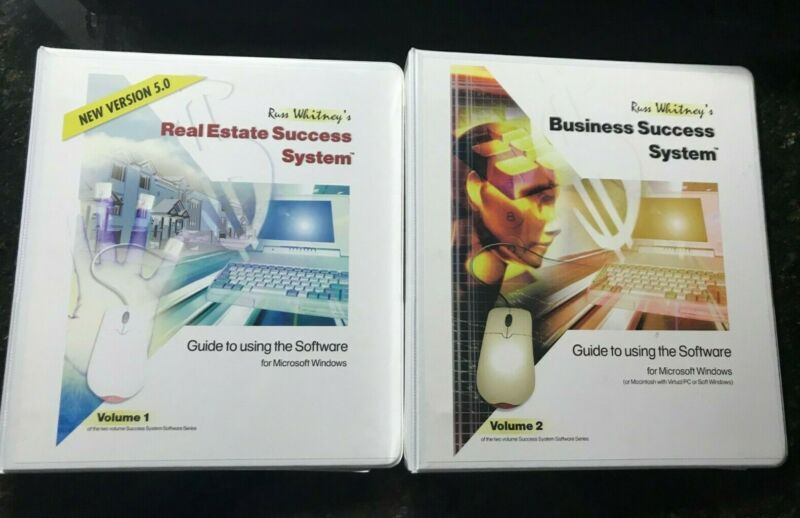 RUSS WHITNEY SUCCESS REAL ESTATE SUCCESS SYSTEM REAL ESTATE COURSE