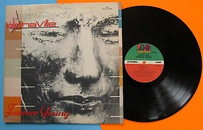 ALPHAVILLE Forever Young LP 1984 ORIGINAL with Inner Sleeve SYNTH-POP  #4345