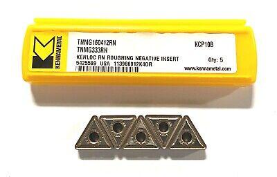 Kennametal Carbide Insert Tnmg333rn Grade Kcp10b Indexable Turning Inserts 5pk