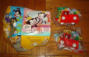 X2 Lot Warner Bros Animaniacs Mcdonalds Happy Meal Toys