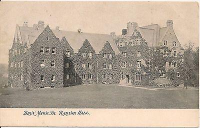 Radnor Hall Bryn Mawr Pa Postcard