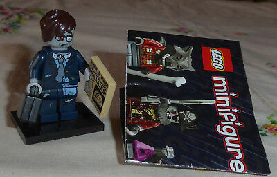Lego - Halloween Minifigures Series 14 - Zombie Businessman - Complete - Retired - Halloween Businessman