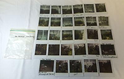 LOT of 29 MATLOCK Set-Used Continuity Polaroid Photos ~ The (Uses Of Polaroids)
