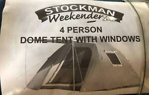 stockman weekender 4 person dome tent