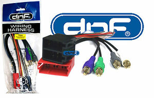AUDI VW WIRING HARNESS AFTERMARKET STEREO RADIO HEADUNIT ADAPTER (70-1787)