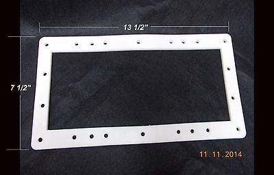 SPX1091-GW HAYWARD ABOVE GROUND SKIMMER FACE PLATE DOUBLE GASKET BUTTERFLY