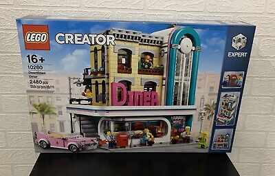LEGO 10260 Creator Expert Downtown Diner NEW/SEALED In Hand Next Day Dispatch