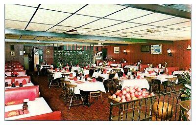 1979 Kefallinia Restaurant, Woonsocket, RI Postcard