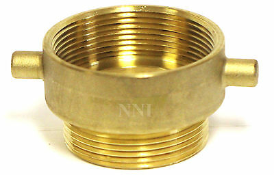 Nni Fire Hose Hydrant Reducing Adapter 3 Female Npt X 2-12 Male Nst Nh