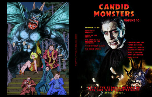CANDID MONSTERS Book VOL 10