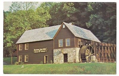 MEADOW RUN GRIST MILL GENERAL STORE Michie Charlottesville Virginia Postcard (Charlottesville Stores)