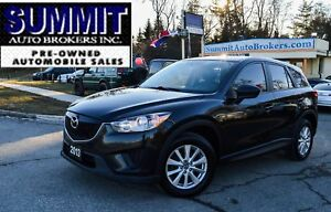 2013 Mazda CX-5 GX SPORT | CAR-FAX CLEAN | ONE OWNER | NAVI