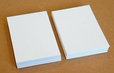 50 Blank ACEO ATC Supplies 2.5 x 3.5 Artist Trading Cards 140lb Watercolor Paper