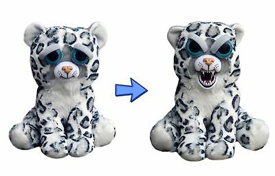"William Mark- Feisty Pets: Lethal Lena- Adorable 8.5"" Plush Snow Leopard"