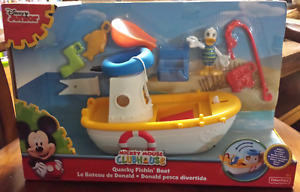 Mickey Mouse Clubhouse Quacky Fishin' Boat New in Box