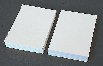 50 Blank 2.5 x 3.5 Artist Trading Cards 140lb Watercolor Paper ACEO ATC Supplies