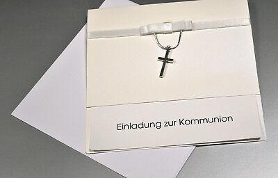 Einladungskarten, Einladung zur Erste Kommunion mit Umschlag MK1721