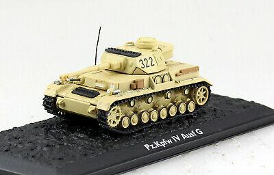 Panzer Panzerkampfwagen 4 Ausführung G 322 UT Fertigmodell 1:72 Altaya Modell