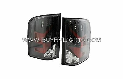 TIFFIN ALLEGRO 2013 PAIR BLACK LED TAIL LAMPS TAILLIGHTS REAR RV