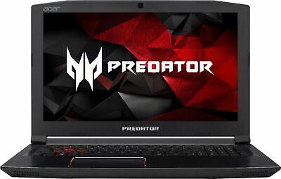 """Acer Predator Helios 300 Gaming 15.6"""" Intel i7 2.80GHz 8GB Ram 1TB HDD Win10H"""