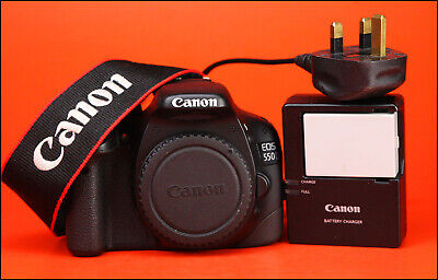 Canon EOS 550D DSLR  Camera + Canon Charger, Battery - 4,920 Shots Taken - 1080p