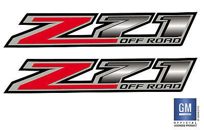 2014 15 16 17 18 Chevy Colorado Z71 OFF ROAD Bed Side Decal Stickers Set Of 2 2 Sided Cherry Bed