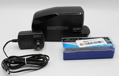Bostitch Office Portable Electric Stapler 20 Sheets Ac Or Battery Powered