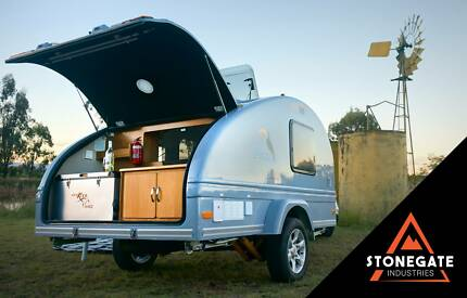 Tucana Teardrop Camper - The Most Feature Packed Concept in Aus