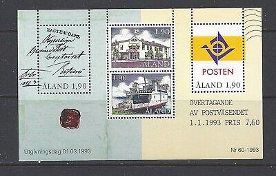 FINLAND - ALAND - 72 S/S - MNH - 1993 -  AUTONOMOUS POSTAL ADM