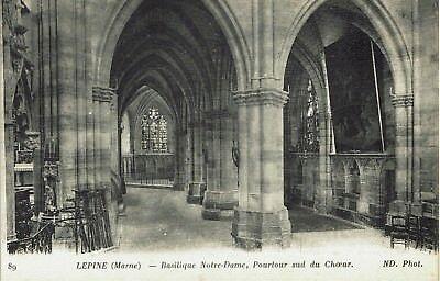 CPA - Carte postale - FRANCE - L'EPINE - Basilique Notre Dame Pourtour Sud