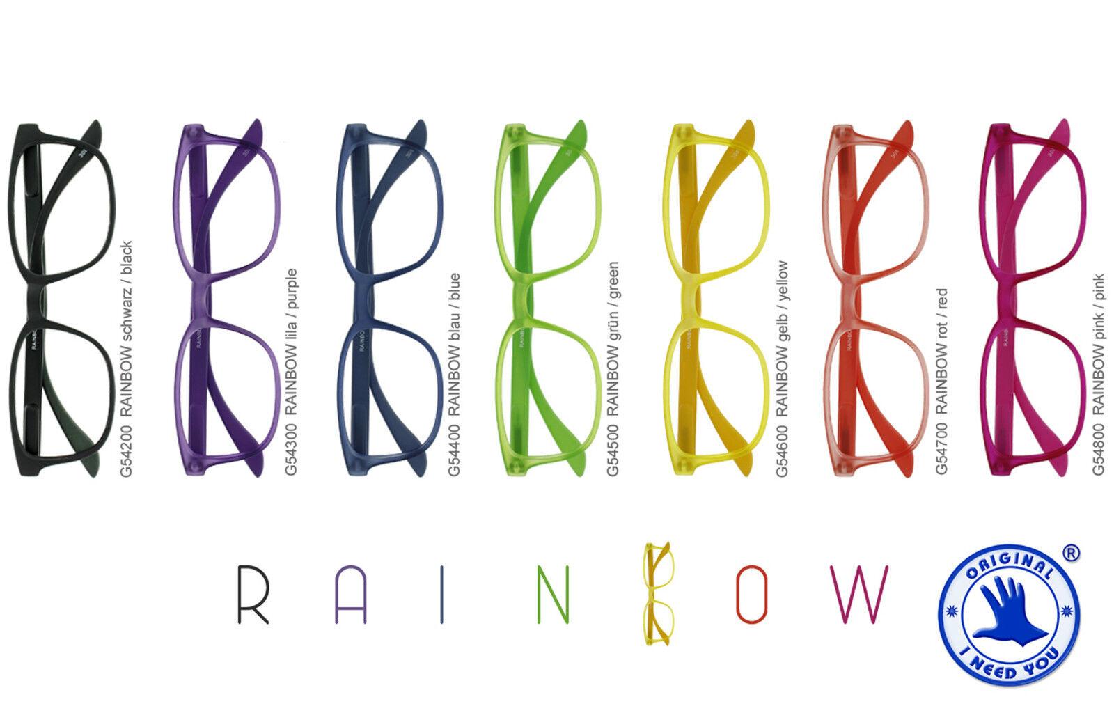 Unisex Lesebrille Rainbow Lesehilfe Brille 1,0 1,5 2,0 2,5 3,0 Neu vom Optiker