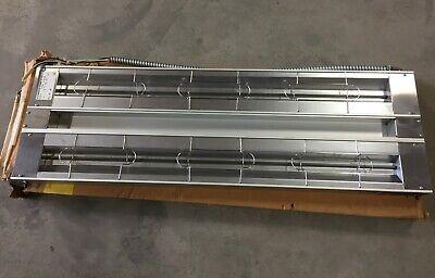 Hatco Grah-48d Glo-ray 48 Aluminum Dual High Wattage Infrared Warmer New