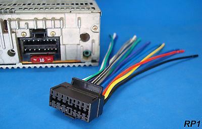 Sony Xplod 16 Pin Radio Wire Harness Car Audio Stereo Power Plug Back Clip  for sale online   eBayeBay