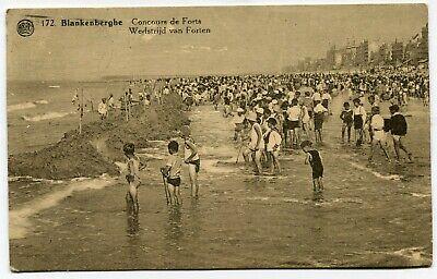 CPA - Carte Postale - Belgique - Blankenberghe - Concours de Forts - 1933 (B9240