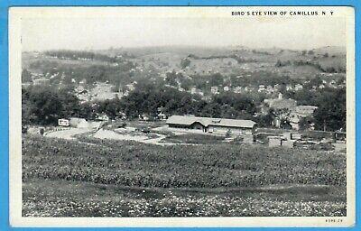 Camillus, NY, Onondaga County, Bird's Eye View Of Camillus Postcard