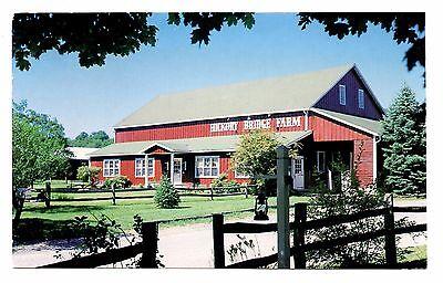 Barn Bed And Breakfast (Hickory Bridge Farm Postcard Ortanna Pennsylvania Red Barn Bed and Breakfast  )