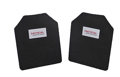 Tactical Scorpion 10mm Trauma Pads Backers Pair 10 x 12 Pads For AR500 Armor
