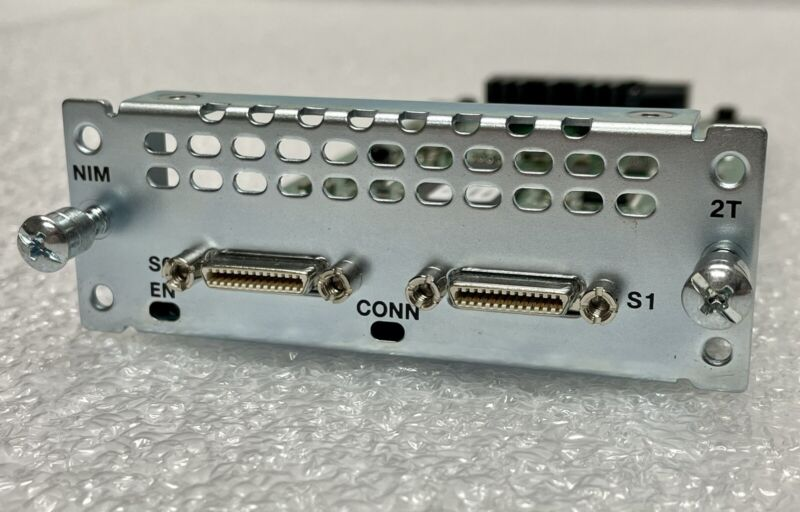 Cisco NIM-2T  2-Port Serial WAN Interface Card for ISR Series Routers