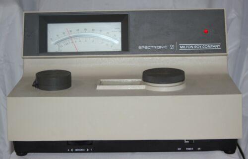 Milton Roy Spectronic 21 Spectrophotometer Lab Laboratory with WARRANTY