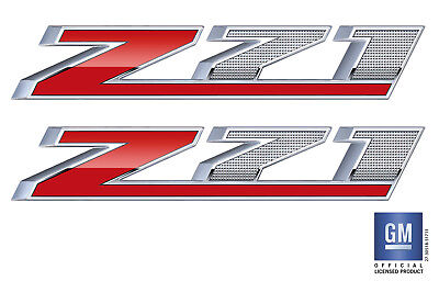2014 2015 2016 17 Chevy Silverado 1500 2500 Z71 Bed Side Decal Stickers Set Of 2
