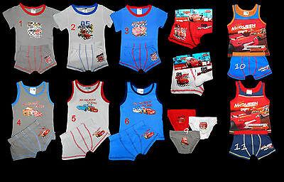Disney Boxer Shorts (Disney Cars McQueen Boxershorts Unterwäsche Unterhemd Boxer Socken 92 - 122)