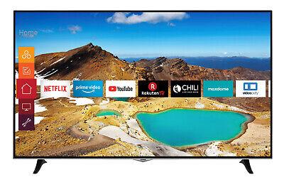 Telefunken XU65H529 4K Ultra HD Fernseher 65 Zoll Triple-Tuner Smart TV WLAN