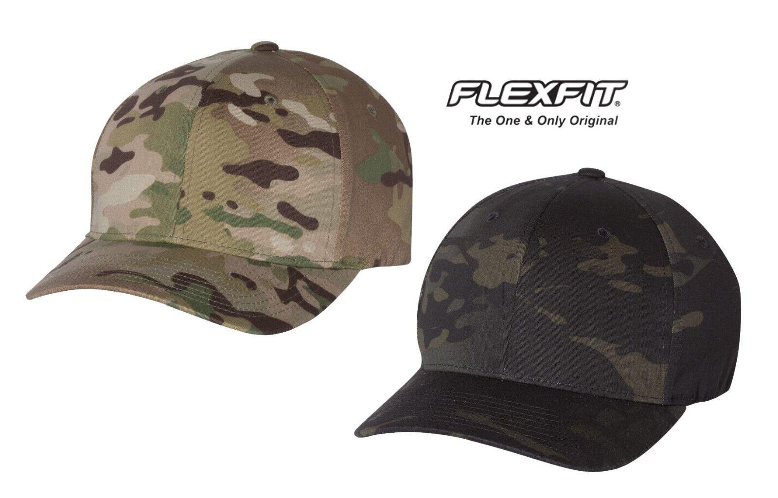 e489a26162a35 Flexfit-Multicam Camo Cap Hat baseball hunting